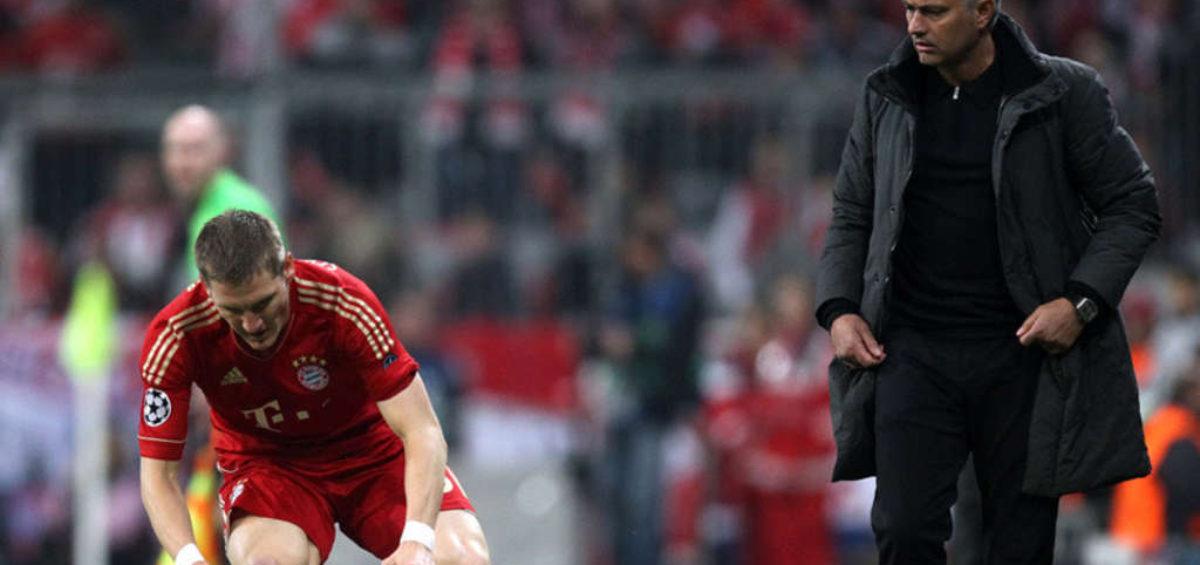 Entenda o caso entre Schweinsteiger e Mourinho